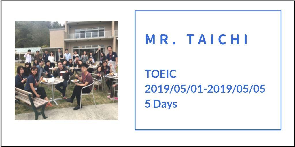 mr. taichi